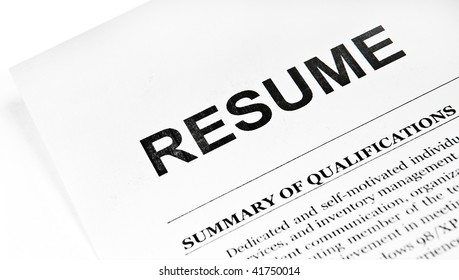 Resume Paper Images Stock Photos Vectors Shutterstock