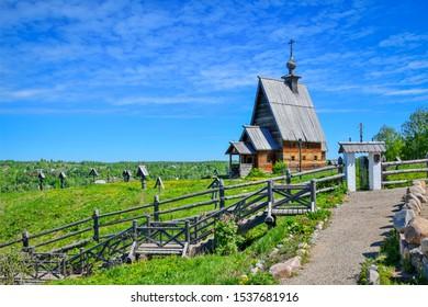 Resurrection Church in Plyos, Ivanovo region