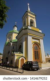 Resurrection church in Voronezh. Russia