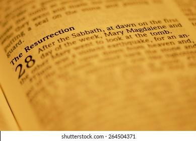 Resurrection Story From Luke