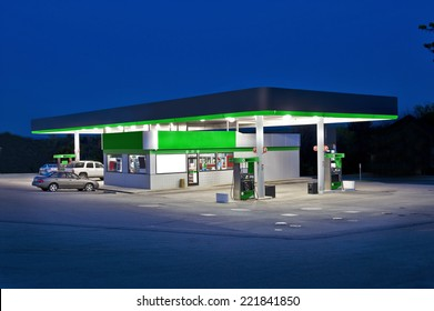Retail Convenience Store And Gas Station
