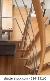 retail of modern wooden spiral stairs