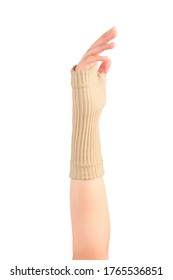 Retainer for a quick recovery and the pain in the wrist. A wrist brace is a garment that is worn around the wrist to protect it during strong use or for allowing it to heal.