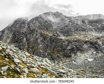 The Retezat mountain