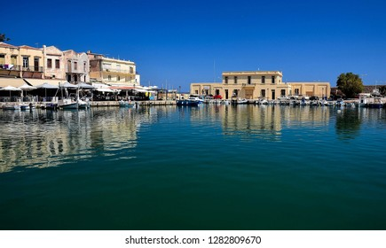 Rethymno, small, historic town on Crete Island