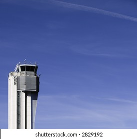 Retired air traffic control tower, Stapleton Airport, Denver, CO.
