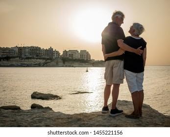 Retired couple enjoying life on Gozo island