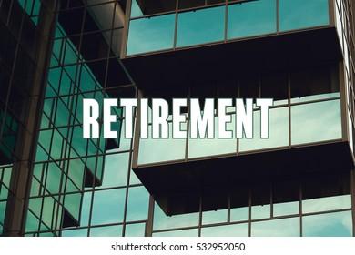 Retirement, Business Concept