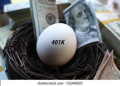 Retirement Nest Egg 401k
