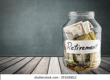 Retirement, Pension, Currency.