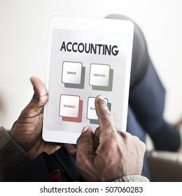 Retirement Plan Budget Investment Concept