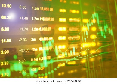 Retirement plan with Finance data concept. Analytics Report Status Information Analysis Chart Graph in digital screen. Business analyzing financial statistics displayed on the tablet screen.