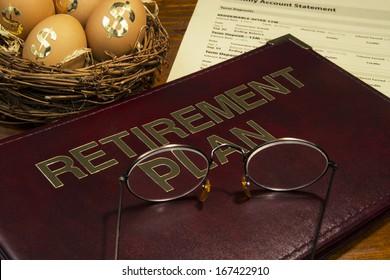 Retirement saving plan with nest egg
