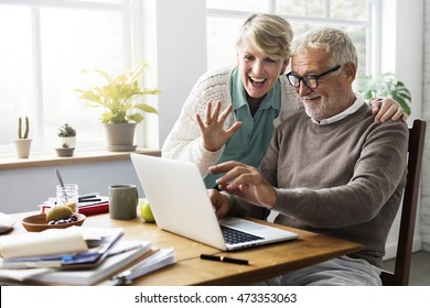 Retirement Senior Couple Lifestyle Living Concept