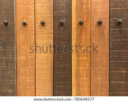 Wandplank Retro Cubes.Retro Brown Wooden Plank Background Stock Photo Edit Now 780648577