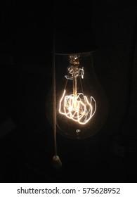 Retro bulb ?arówka - Shutterstock ID 575628952