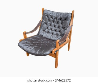 Retro chair isolate on white background