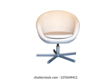 Retro chair,isolated on white background with clipping path.