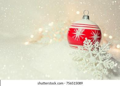 Retro Christmas Bauble