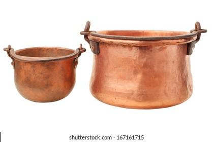 retro copper pot