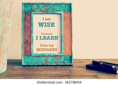 Mistake Quotes Stock Photos Images Photography Shutterstock