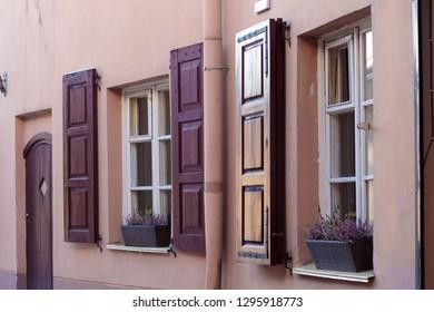 Retro european old town apartament