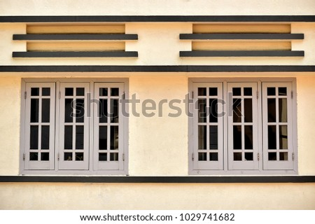 Retro Exterior Traditional Singapore Shop House Stock Photo Edit