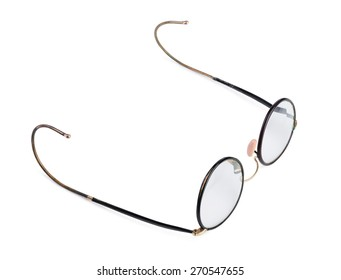 retro glasses isolated  on a white background