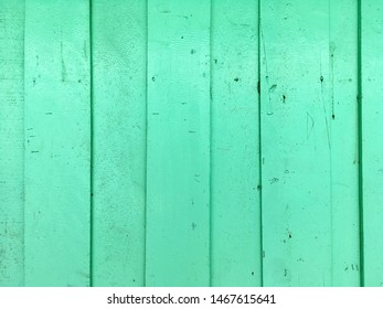 Retro green wood texture pattern background