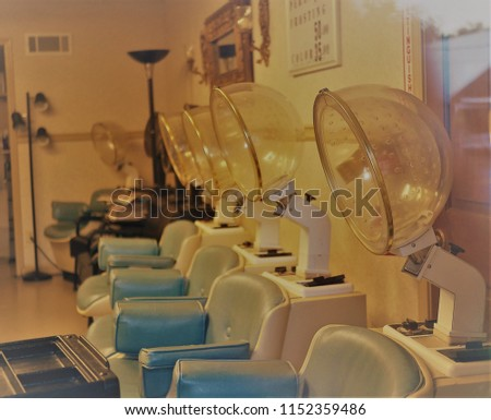 Retro Hair Salon Stock Photo Edit Now 1152359486 Shutterstock