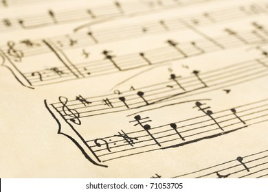graphic relating to Free Printable Vintage Christmas Sheet Music named Sheet Audio Illustrations or photos, Inventory Photographs Vectors Shutterstock