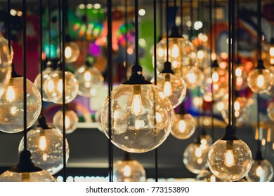 Retro light decor