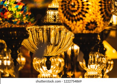 Retro luxury  chandelier light lamp decor