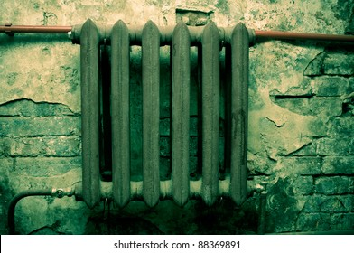 Retro metal radiator