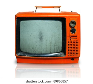 Retro, the old television