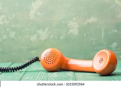 Retro Orange Handset