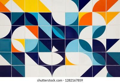 Retro pattern ceramic tiles