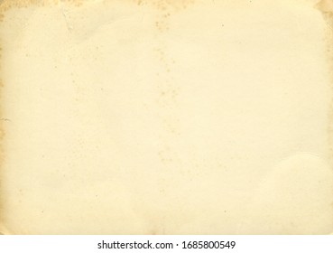 Retro photo paper texture. Old antique paper texture. Vintage paper background. Aged and yellowed paper
