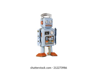 retro robot toy