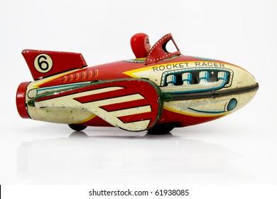 retro rocket toy