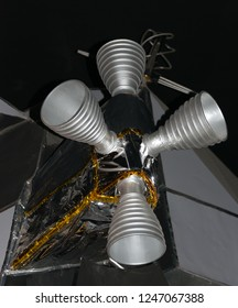 Retro Rockets on Lunar Module