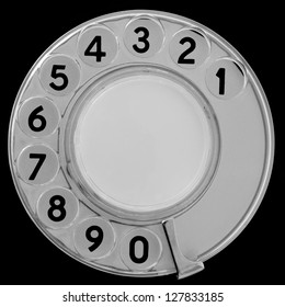Retro telephone dial