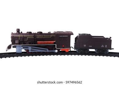 Retro toy locomotive
