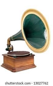 retro vinyl player