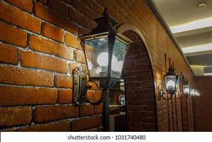 the retro wall lamp