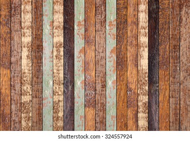 retro wooden panel walls background.