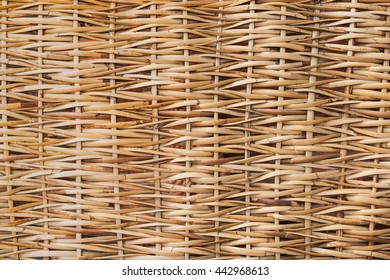 Retro woven wood pattern background and texture