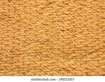 Retro woven wood rattan background