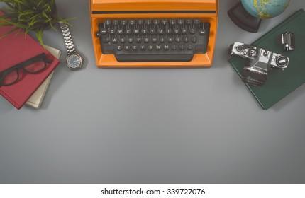 Retro writers hero header image