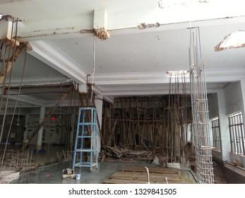 Retrofitting Work For Building